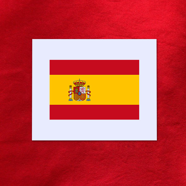 D calcomanie drapeau espagnol espagne dimension au choix for Fenetre en espagnol